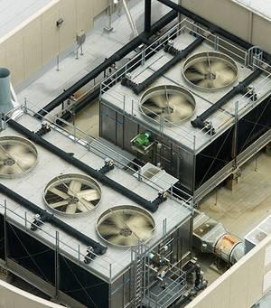 Air conditioning of data centres