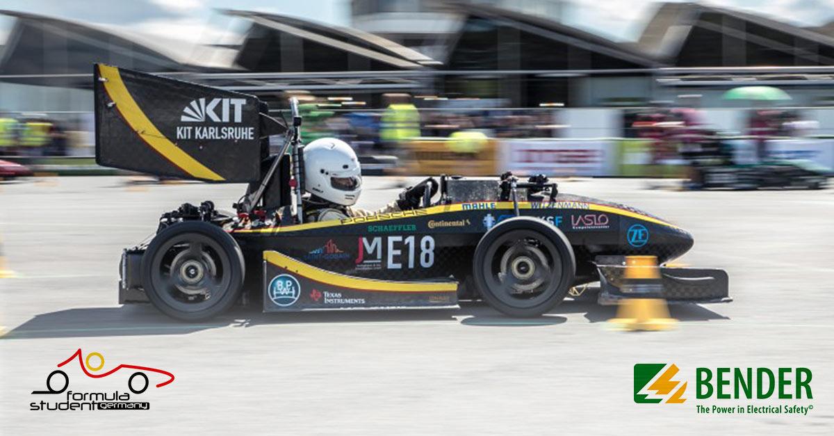 Bender unterstützt Formula Student