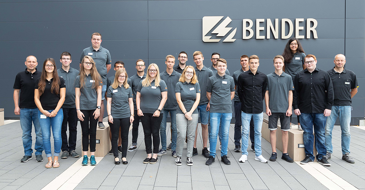Career at Bender - Start of the new training year