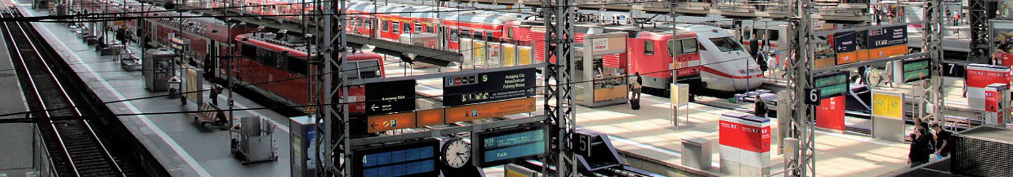 Making railway stations electrically safe