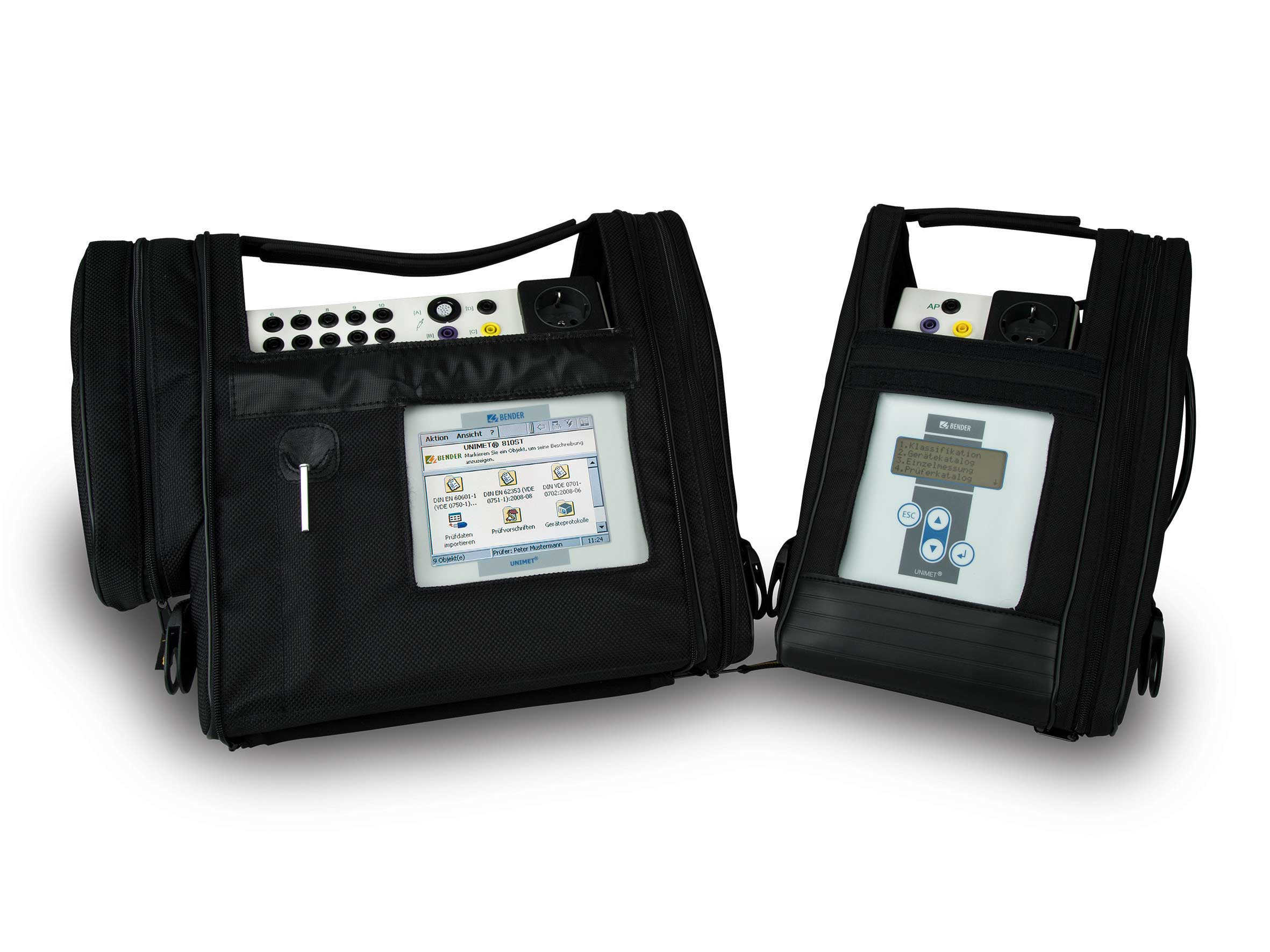 Safety tester for mobile use/medical device manufacturer